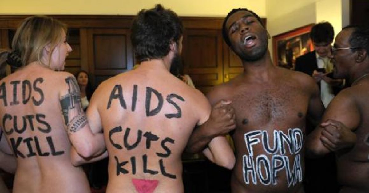 Breaking: Taxes Can Cure AIDS, According to Random Naked People