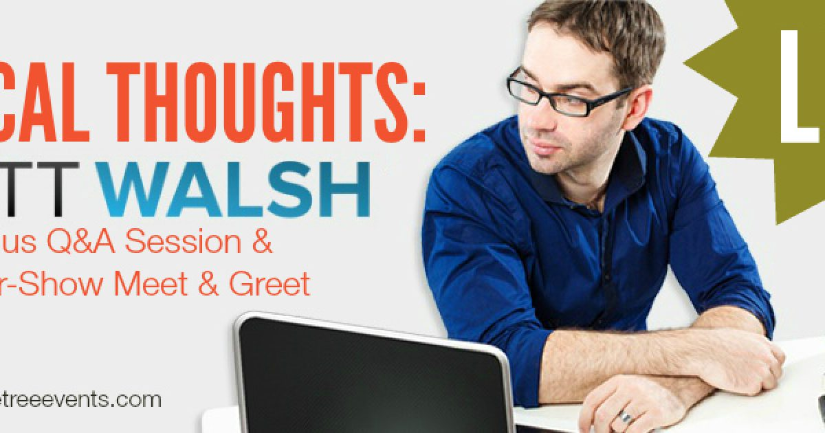 Now launching Radical Thoughts: Matt Walsh Live