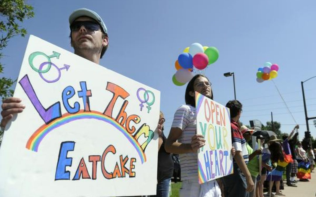 It's legal to kill babies, but let's worry about a gay person's right to cake