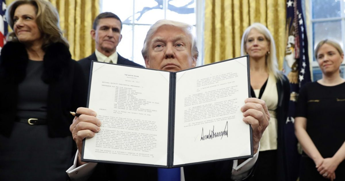If You Call This a 'Muslim Ban,' You Are a Shameless Liar